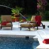 Dean Residence Pool Terrace Seating ©Aqui
