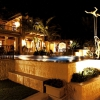 Gomberg Pool Night View ©Aqui